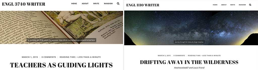 Ken Simpson's ENGL1110 and ENGL3740 courses